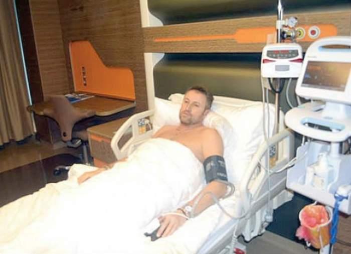 Informaţie de ultimă oră! Cătălin Botezatu, din nou pe patul de spital