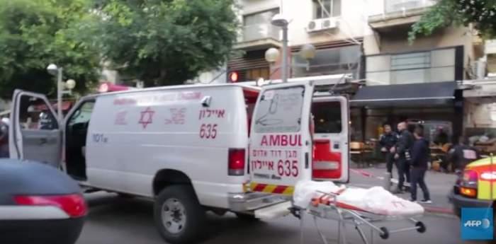 Un terorist a fost omorât la Tel Aviv, în urma unui atac armat
