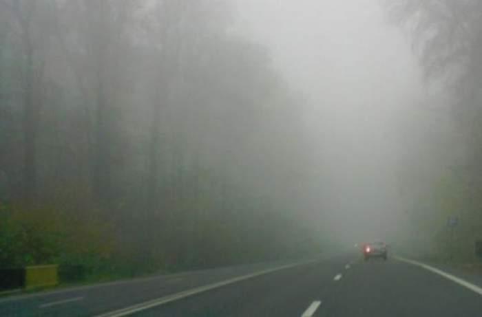 Atenţie şoferi! Cod galben de ceaţă în mai multe judeţe din ţară. Care sunt zonele vizate?