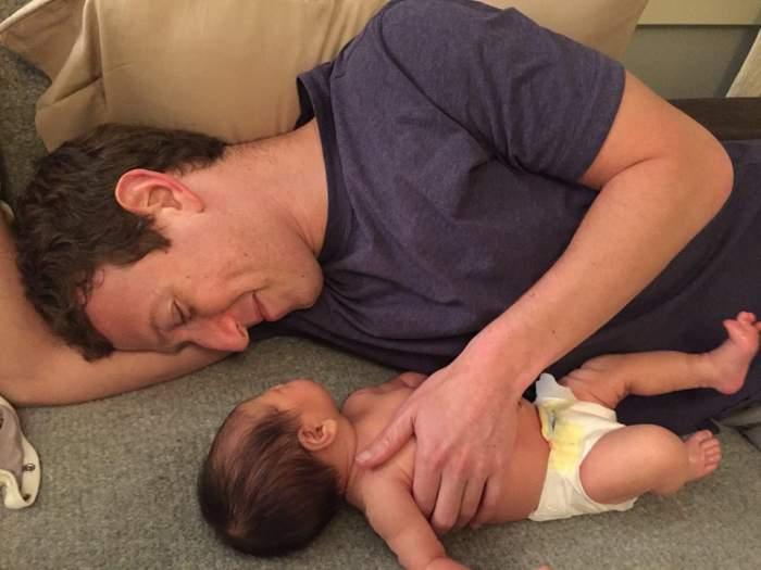 Mark Zuckerberg, de urgenţă cu fetiţa la spital!