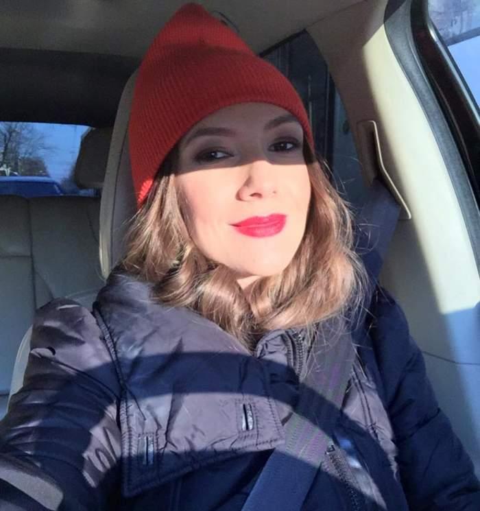 """Adela Popescu, despre trimestrul al doilea de sarcină: """"Am mers la ecografie. Ne-a făcut cu mâna"""""""