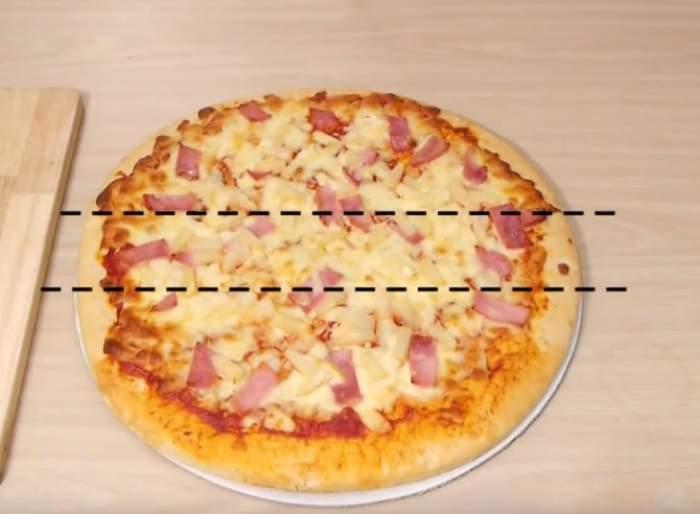 VIDEO / Cum să-ţi păcăleşti musafirii atunci când le serveşti pizza