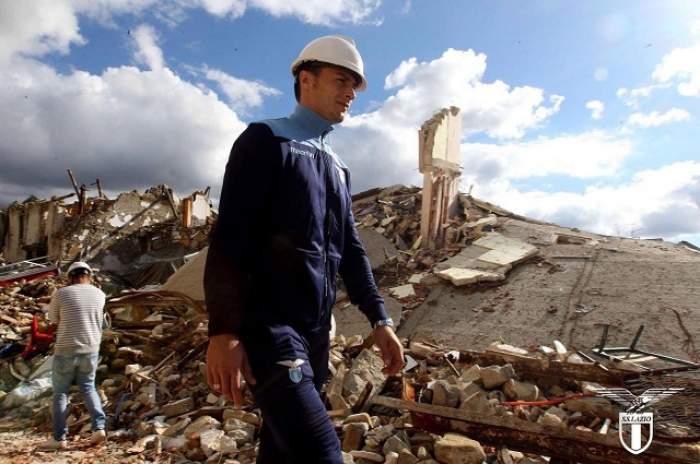 FOTO / Ştefan Radu are Italia la picioare! Fotbalistul român a făcut un gest SENZAŢIONAL pentru persoanele afectate de cutremurul de la Amatrice!