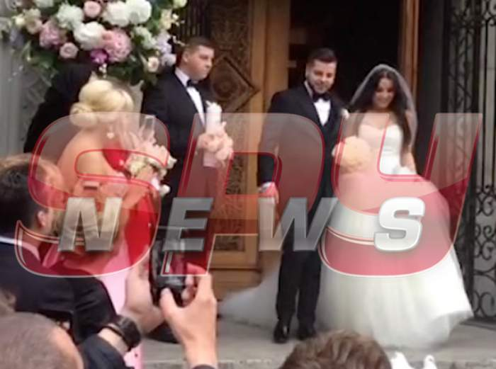 VIDEO / Imagini de la nunta băiatului cel mare al lui Silviu Prigoană, Honorius