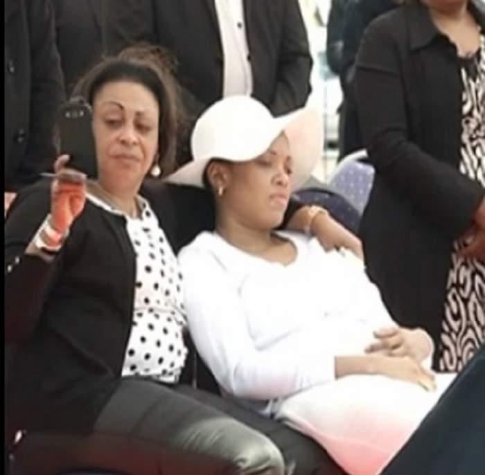VIDEO / Scandal în familia răposatului Ekeng! Soția și rudele dinamovistului se ceartă pe avere