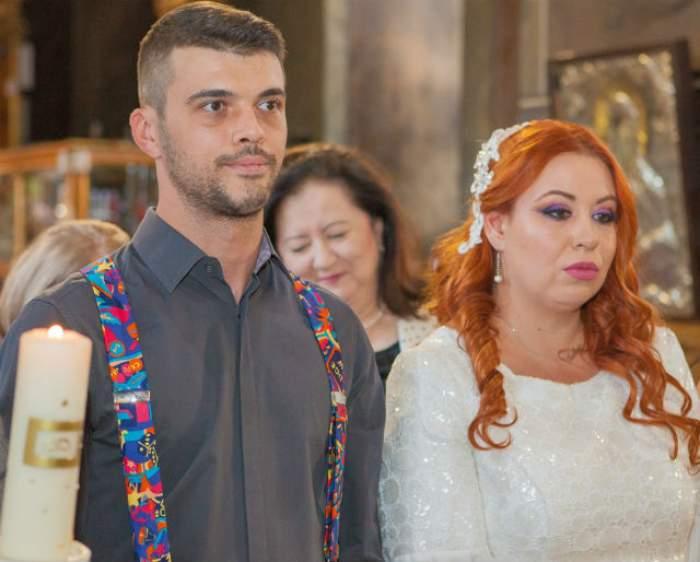 """FOTO / Ce făcea Oana Roman în timp ce soţul ei se distra cu Denisa de la """"Mireasă pentru fiul meu""""? Faţa ei spune tot"""