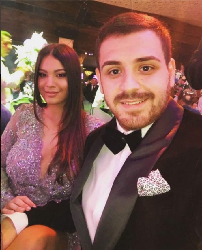 FOTO / În dreapta iubitului şi cu DECOLTEUL până la BURIC! Apariţia de revistă a fiicei lui Florin Salam