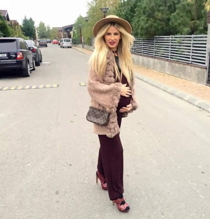 Deşi mai are puţin şi naşte, Andreea Bănică duce nişte lipsuri mari. Pe vedetă o apasă nostalgia