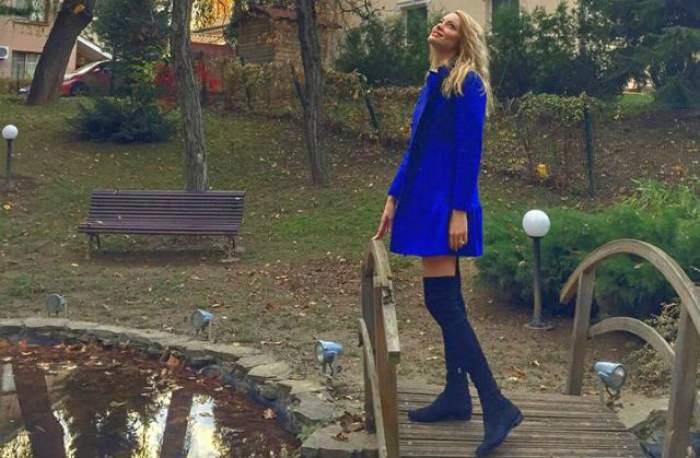 Valentina Pelinel, o mamă singură, dar fericită! Ipostaza în care s-a fotografiat spune mai multe