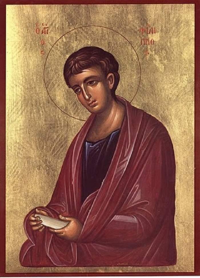 Sărbătoare pentru creştini! Astăzi este pomenit  Sântul Apostol Filip