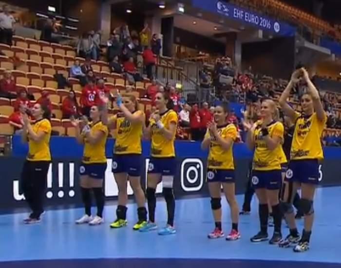 CE handbal: România a învins Cehia! Fetele noastre, tot mai aproape de semifinale!