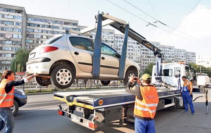 Maşinile parcate pe trotuare sau staţionate neregulamentar pot fi ridicate din nou