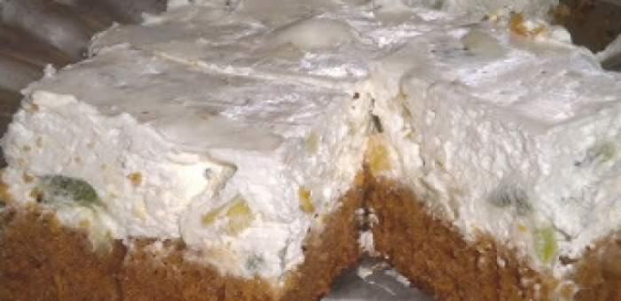 REŢETA ZILEI – LUNI: Prăjitură diplomat de post! Este perfectă pentru această perioadă