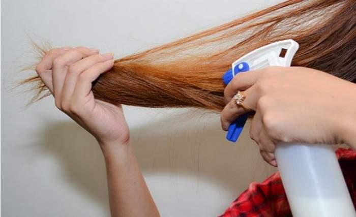 Tratament simplu şi eficient pentru păr! Îl prepari repede, îţi întăreşte părul şi îi oferă strălucire