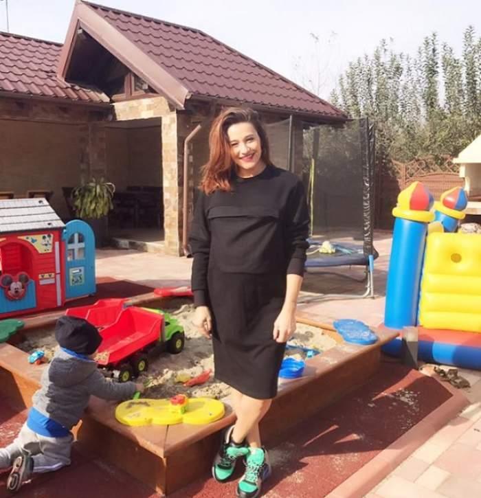 """Fericire în familia Claudiei Pătrăşcanu: """"Faceți cunoștință cu finuța noastră, Aisha Maria"""""""