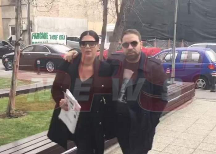 Florin Salam nu se aştepta la asta! Ce a făcut Roxana Dobre înainte să nască / VIDEO PAPARAZZI