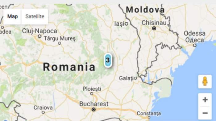 România s-a cutremurat! Un seism cu o magnitudine de 3 grade pe scara Richter s-a înregistrat în Vrancea