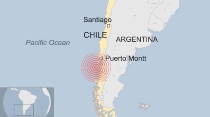 CUTREMUR de 7, 7 grade pe scara Richter în Chile! A fost emisă ALERTĂ DE TSUNAMI
