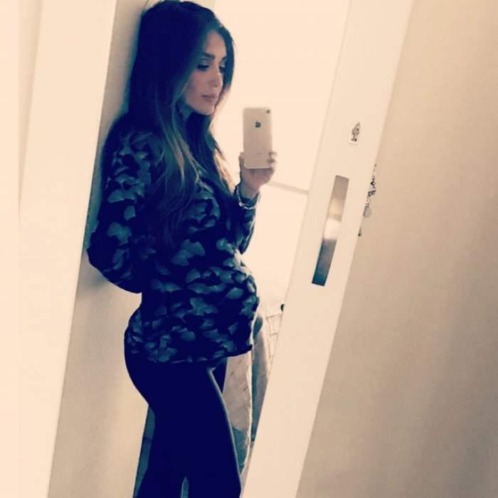 """FOTO / Burtica lui Anahi se măreşte pe zi ce trece! Cum arată acum graviduţa care a jucat în """"Rebelde"""""""