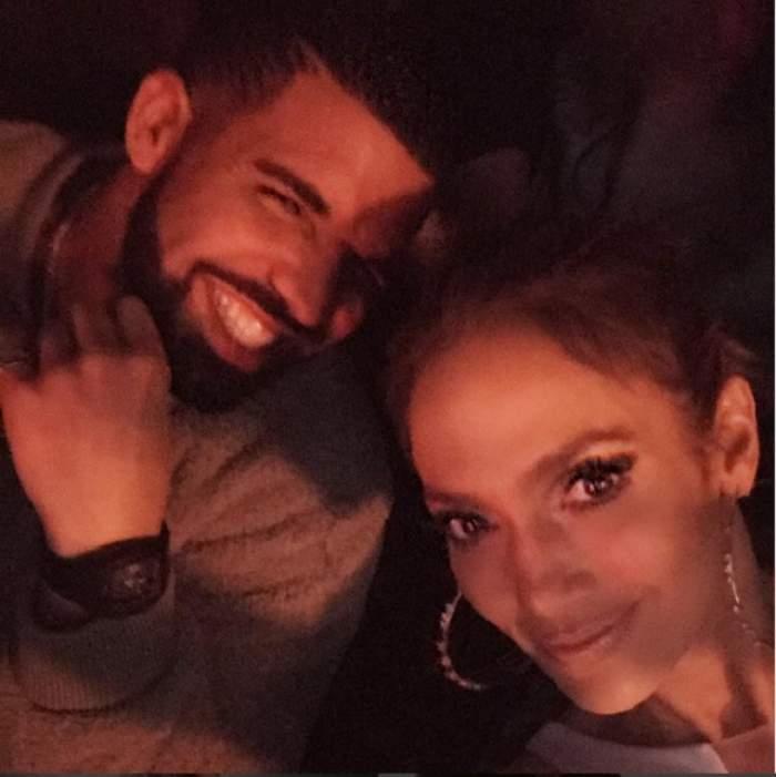 FOTO / Prima dovadă de dragoste dintre Drake şi Jennifer Lopez! Totul e oficial acum