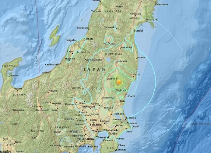 Cutremur de 6,3 pe scara Richter în Japonia