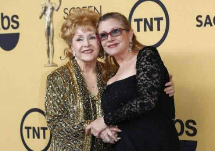 """Tragedie după tragedie! Debbie Reynolds, mama regretatei Carrie Fisher, s-a stins din viaţă la o zi după moartea fiicei ei! """"Vreau să fiu cu ea"""""""