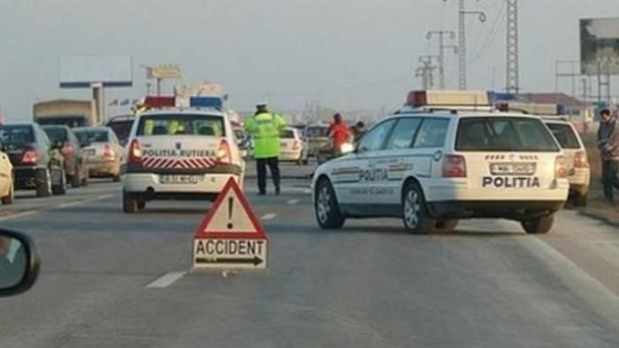 ACCIDENT GRAV pe DN1! Există două victime