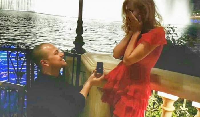 """A spus """"DA""""! Dan Badea a cerut-o în căsătorie pe iubita lui"""