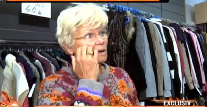 """VIDEO / Monica Tatoiu nu vrea să audă de haine scumpe! Se îmbracă de la """"second hand"""" şi a mers cu tramvaiul, prima oară după 20 de ani"""