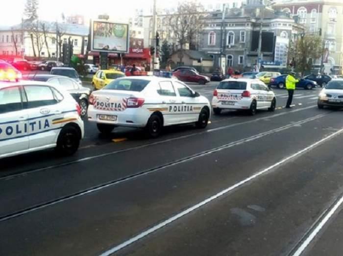 Accident grav în Capitală! Traficul este blocat
