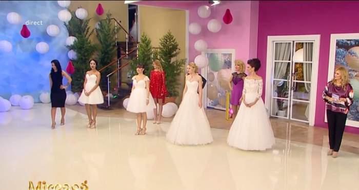 Zi mare în casa MPFM! Fetele au îmbrăcat astăzi rochia de mireasă