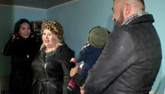 VIDEO / Viorica de la Clejani a apărut la TV după ce a slăbit! Cum arată în ţinută de iarnă şi cu câteva kilograme în minus