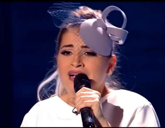 """VIDEO / Ce apariţie spectaculoasă, dar şi ce prestaţie impresionantă a avut Prinţesa de Aur în prima Gală Live de la """"X Factor"""""""