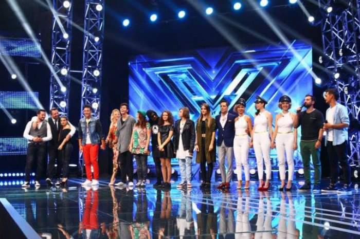 """VIDEO / Ei sunt concurenţii care vor merge mai departe după prima Gală Live de la """"X Factor""""!"""