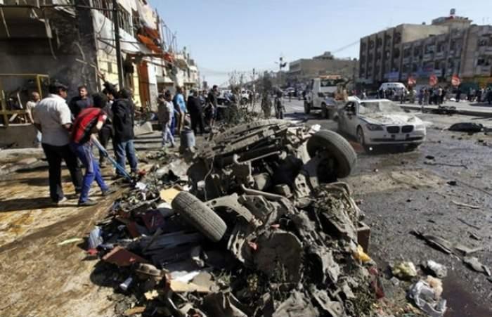 Triplă explozie în Siria. Cel puţin 70 de oameni şi-au pierdut viaţa