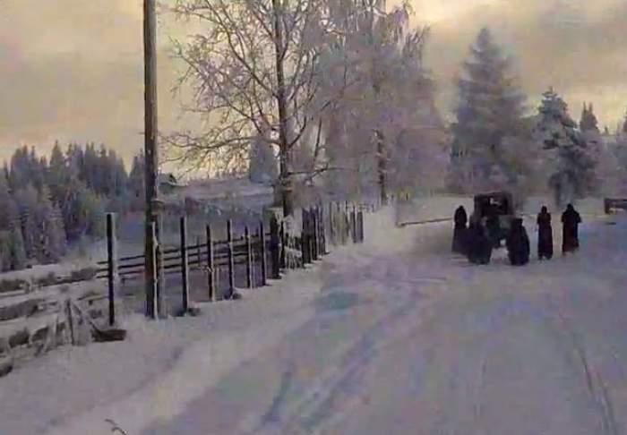 VIDEO / Se întâmplă în România! Povestea unor călugăriţe silite  în fiecare iarnă să făcă un gest la care nu te-a fi gândit vreodată