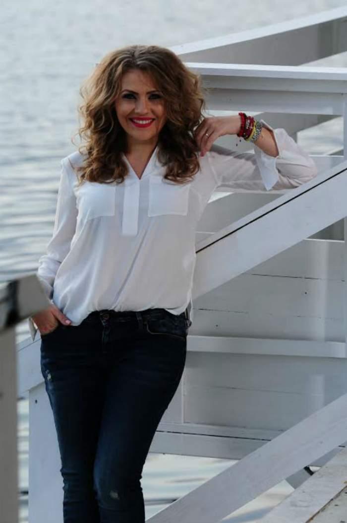 Mirela Boureanu Vaida, decolteu adânc în al doilea trimestru de sarcină! A făcut furori în această rochie