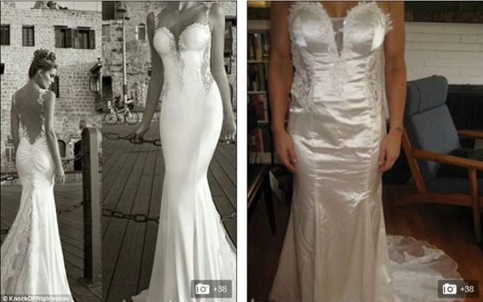 FOTO / Şi-au dorit cu orice preţ să fie irezistibile, aşa că şi-au comandat rochiile mult visate pe internet! Ce au primit, însă, e de neimaginat: Sunt cârpe!