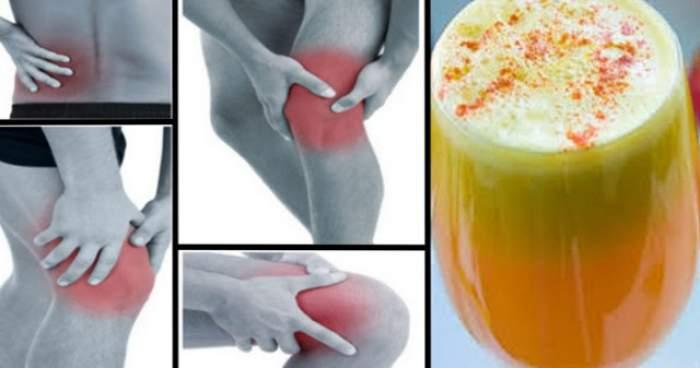 Amestecul acesta delicios te scapă de durerile articulare şi reumatice! Are efecte anti-inflamatoare dovedite