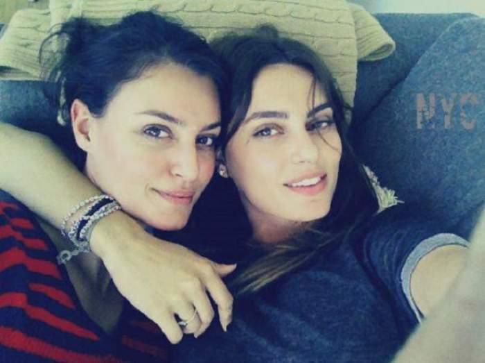"""Dezvăluiri neştiute despre relaţia dintre Catrinel Menghia şi sora ei: """"Ne băteam foarte des, mai ales de sărbători era un coșmar!"""""""