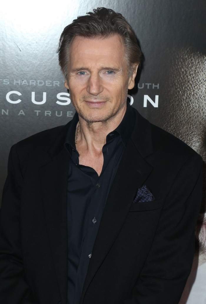 Liam Neeson nu mai ține doliu după soția sa. Cine este femeia care îl face să zâmbească din nou