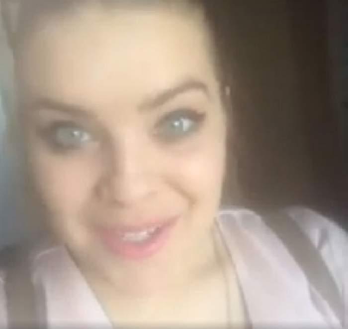 """VIDEO / De la tipa silfidă care apărea pe sticlă, la mămica """"pufoasă""""! Bianca Lăpuşte, amintirea unei apariţii sexy"""