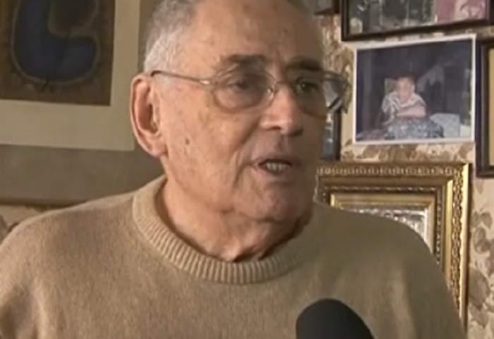 """VIDEO / Horia Moculescu, surpriză la 79 de ani! Cine i-a dat SMS la 6 dimineaţa? """"Am trăit vieţi paralele"""""""