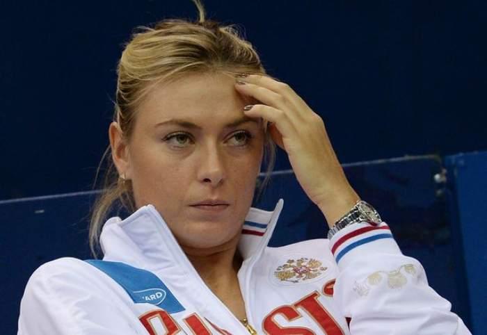 """Maria Şarapova, depistată pozitiv la un control antidoping! Primele declaraţii ale jucătoarei: """"Am făcut o greșeală enormă!"""""""