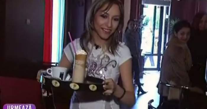 VIDEO / Andra, cea mai sexy picoliţă! Cum au reacţionat clienţii un restaurant când au văzut cine îi serveşte