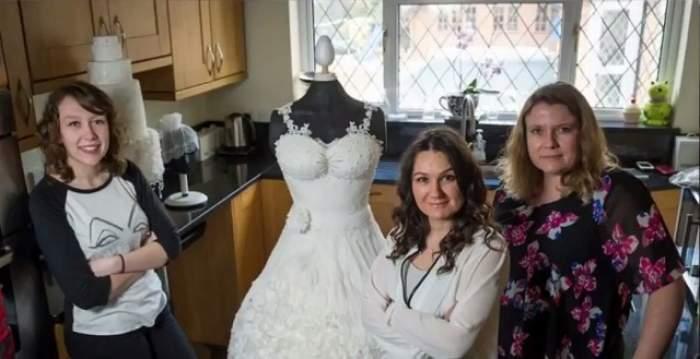 VIDEO / E cea mai frumoasă rochie de mireasă, dar nicio femeie nu vrea s-o poarte! Motivul este absolut suprinzător