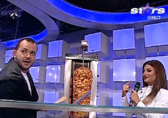 VIDEO / Nu ai mai văzut aşa ceva până acum la TV! Mihai Morar, şef la shaormerie. Prezentatorul a făcut totul LIVE