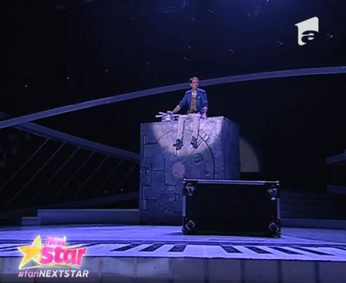 """VIDEO / Momente dificile pentru Dan Negru la """"Next Star""""! Prezentatorul a păţit-o chiar în timpul competiţiei"""