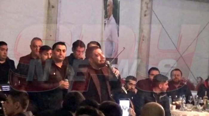 VIDEO / Parastas cu vedete! Florin Salam, la căpătâiul lui Fane Spoitoru, alături de soţia acestuia