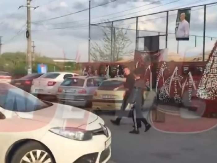 VIDEO / Apariție surprinzătoare la priveghiul lui Fane Spoitoru! MM Stoica a venit să își ia adio de la fostul interlop